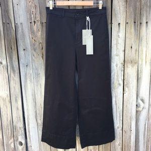 NWT Everlane The Lightweight Wide Leg Crop Pant 6
